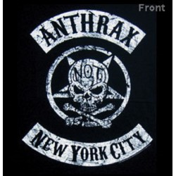 T-Shirt ANTHRAX Biker Skull